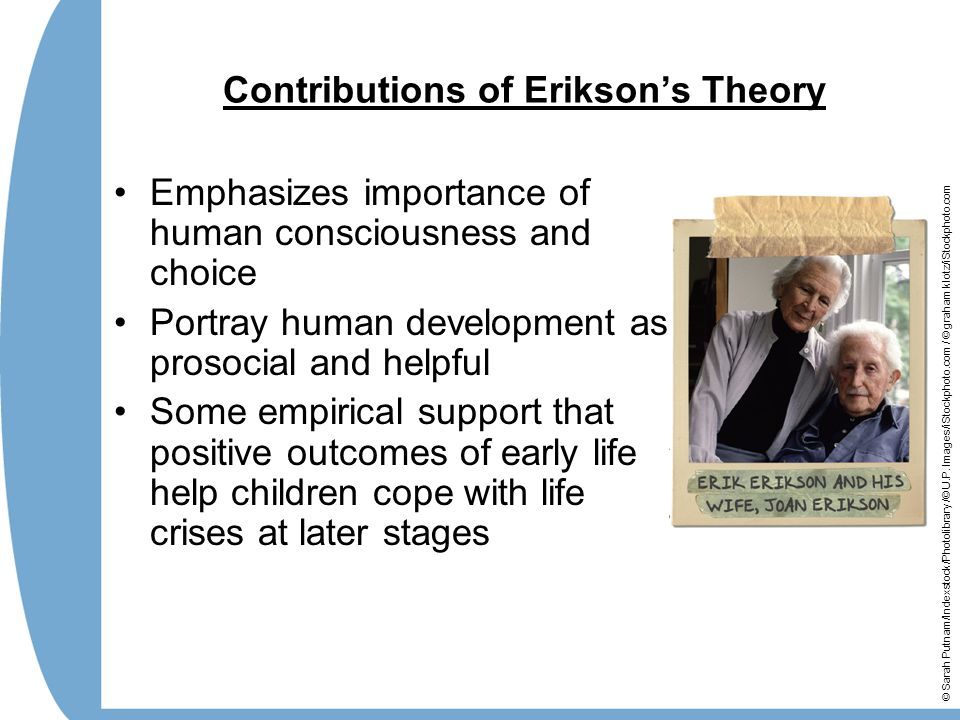 Contributions of Erikson's Theory