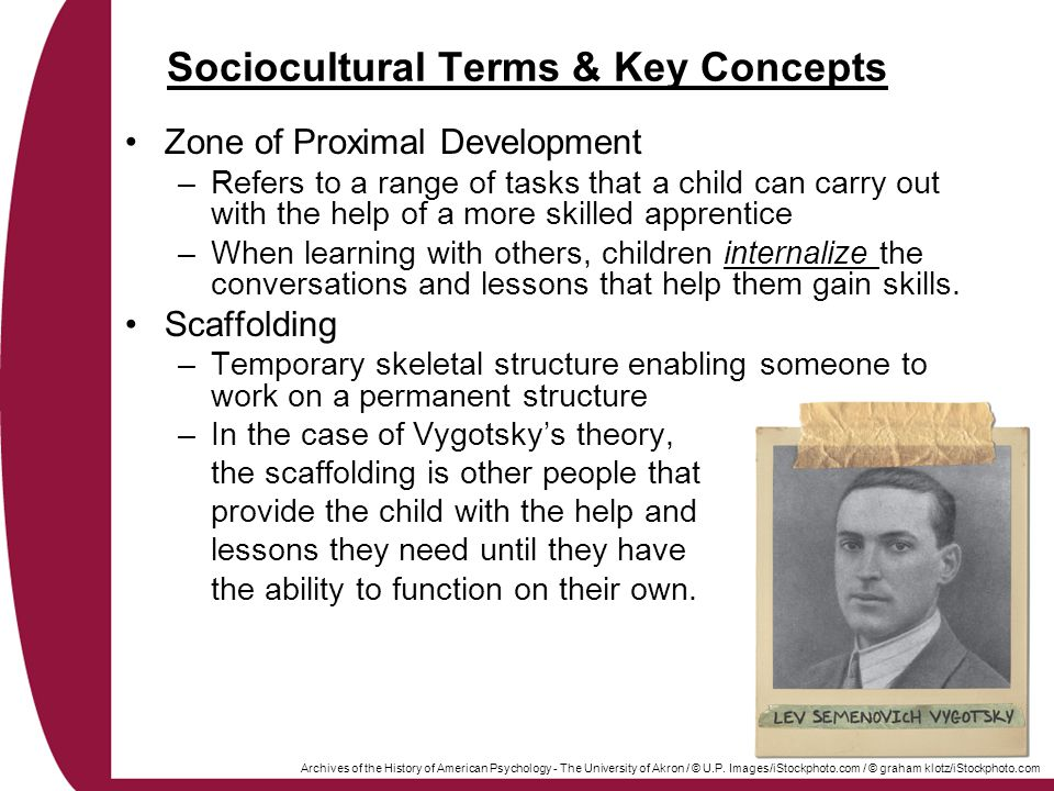 Sociocultural Terms & Key Concepts