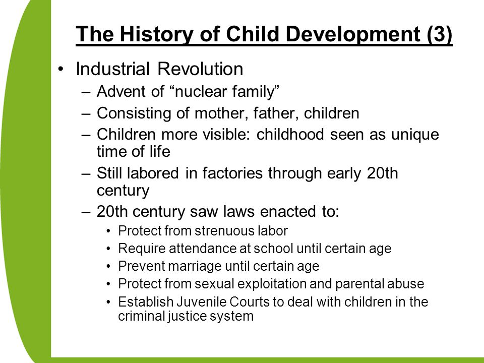 The History of Child Development (3)