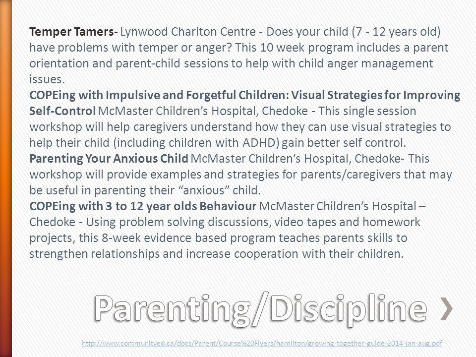 Parenting/Discipline