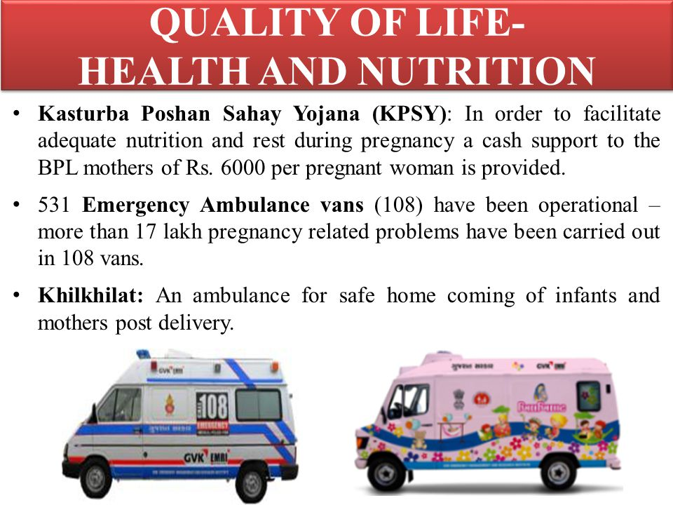 QUALITY OF LIFE- HEALTH AND NUTRITION