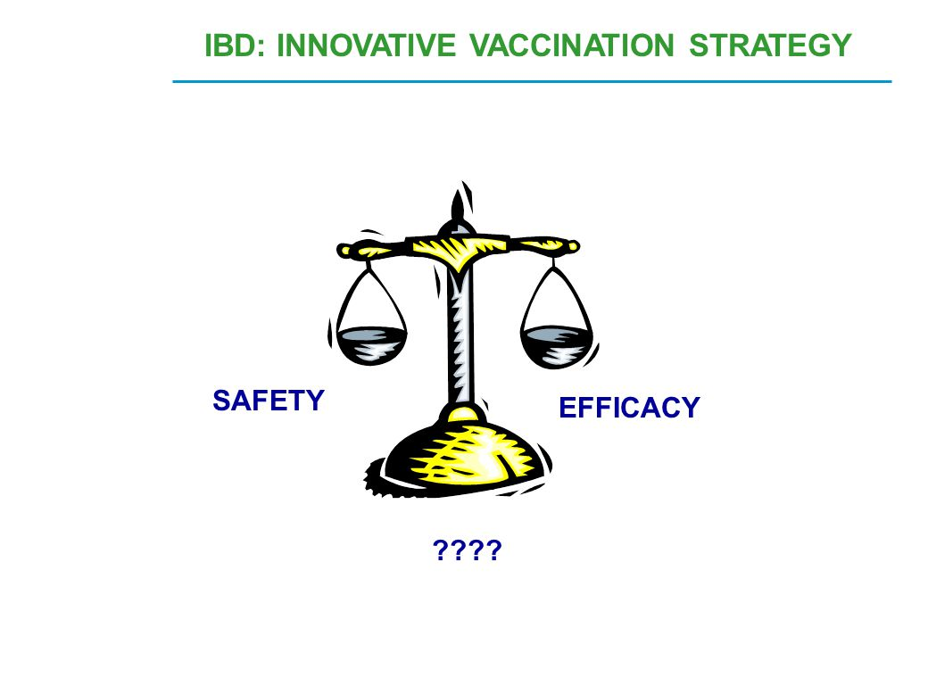 IBD: INNOVATIVE VACCINATION STRATEGY