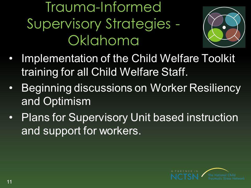 Trauma-Informed Supervisory Strategies - Oklahoma