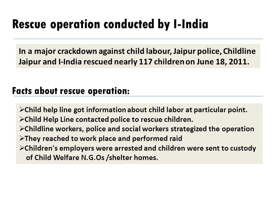 Rescue operation conducted by I-India