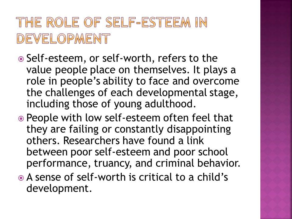 The Role of Self-Esteem in Development