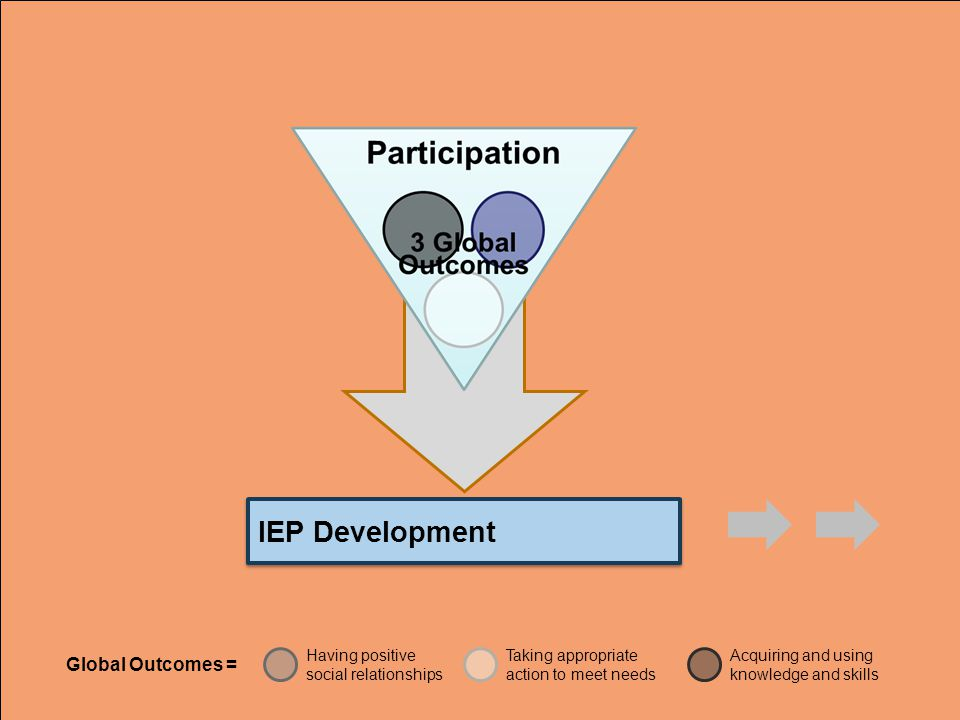 IEP Development Global Outcomes =