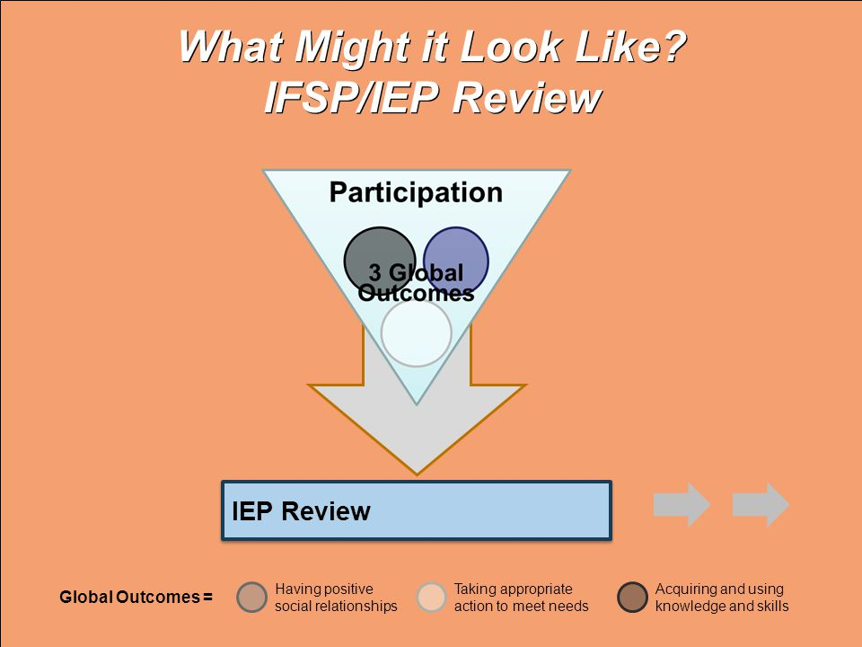 What Might it Look Like IFSP/IEP Review