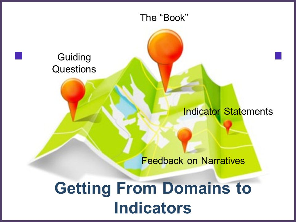 Getting From Domains to Indicators