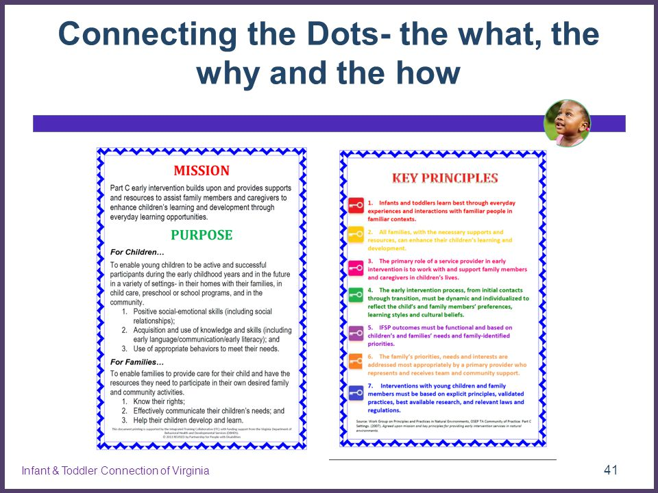 Connecting the Dots- the what, the why and the how