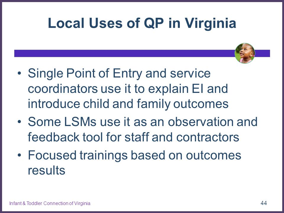 Local Uses of QP in Virginia