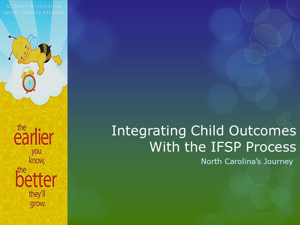 Integrating Child Outcomes With the IFSP Process