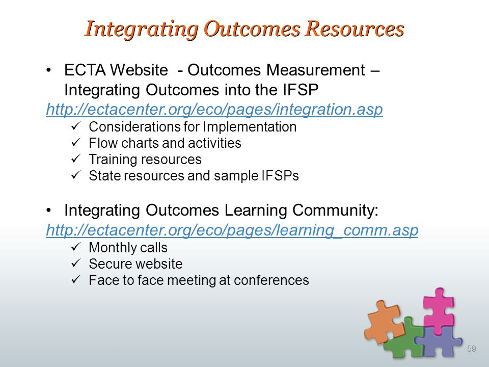 Integrating Outcomes Resources