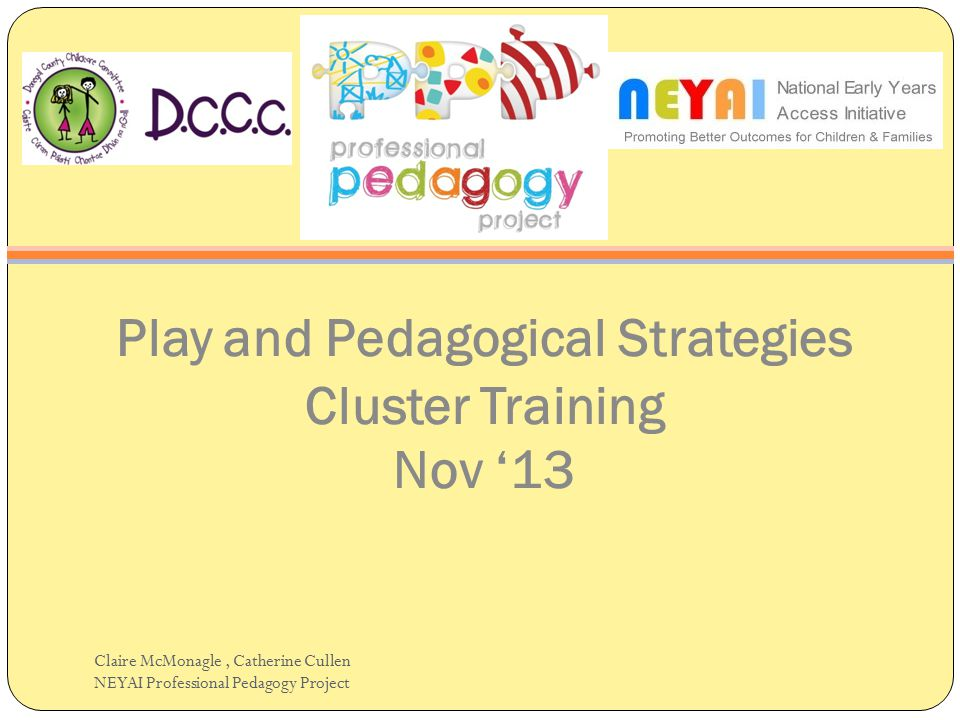 Play and Pedagogical Strategies