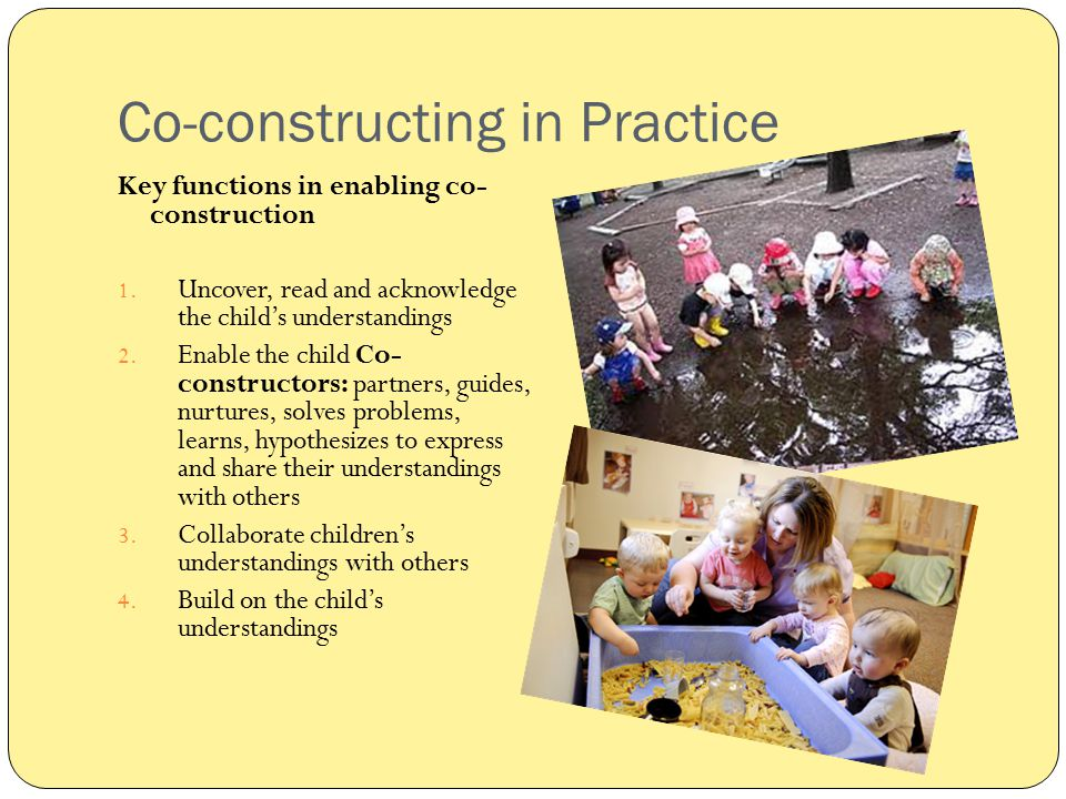 Co-constructing in Practice