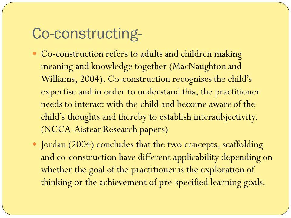 Co-constructing-