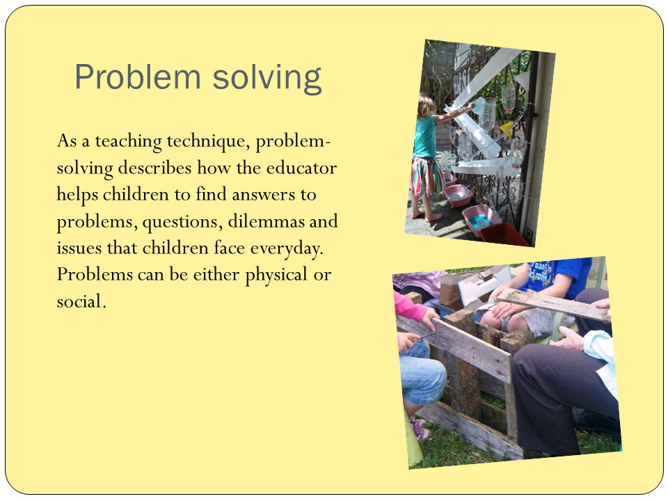 problem solving role play