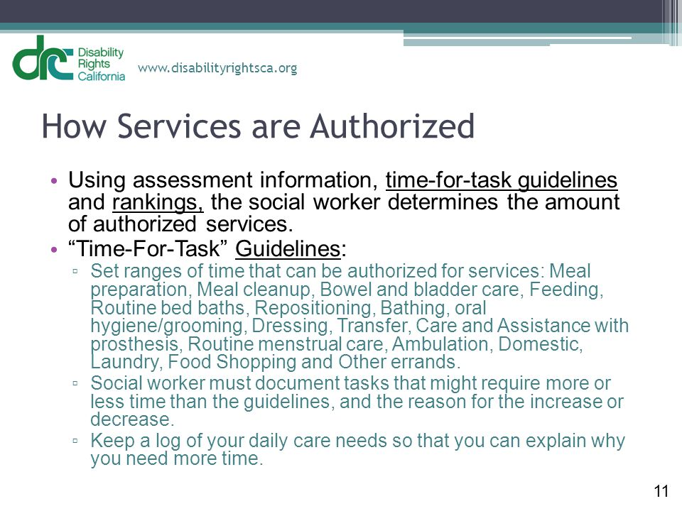 How Services are Authorized