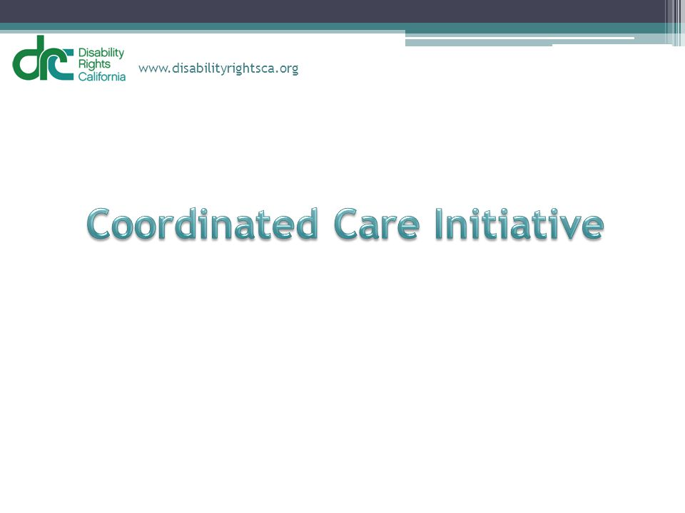 Coordinated Care Initiative