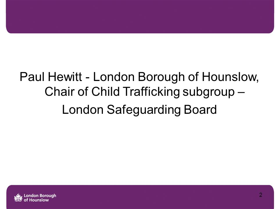 London Safeguarding Board