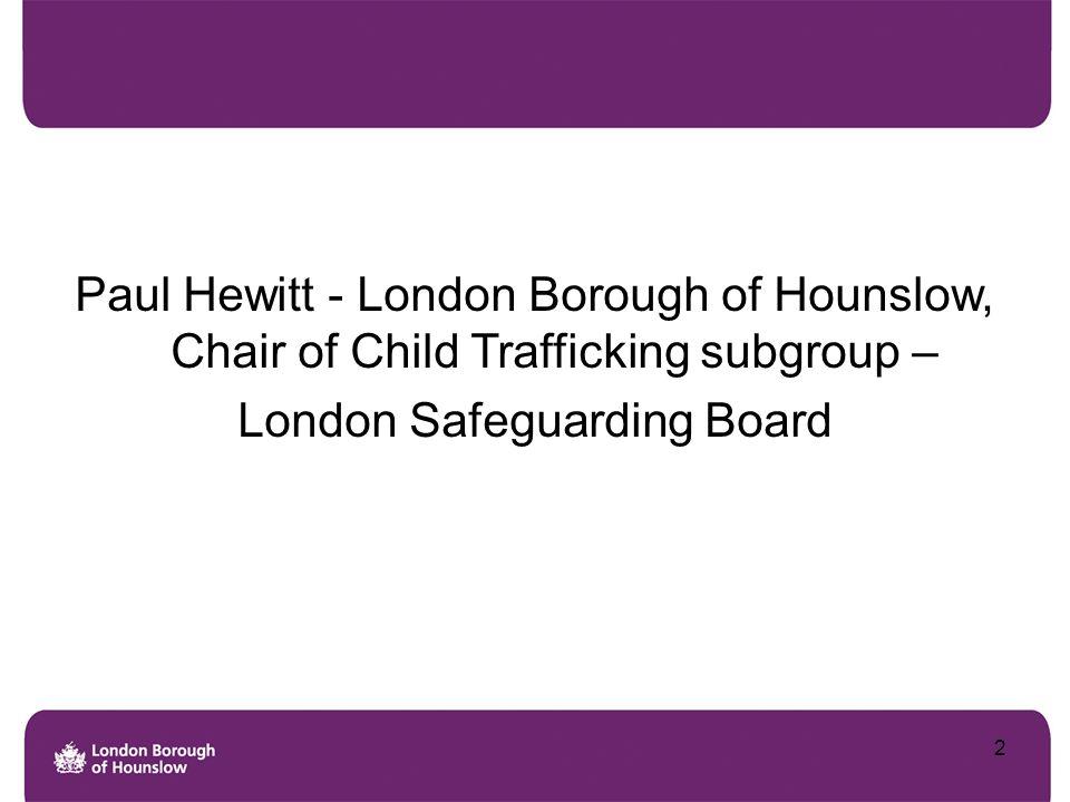 London Safeguarding Board