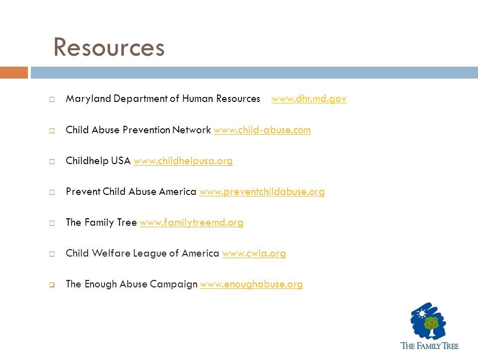 Resources Maryland Department of Human Resources www.dhr.md.gov