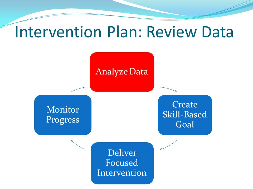 Intervention Plan: Review Data
