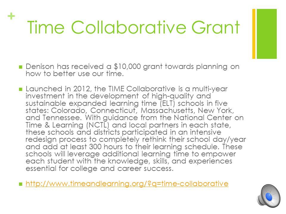 Time Collaborative Grant