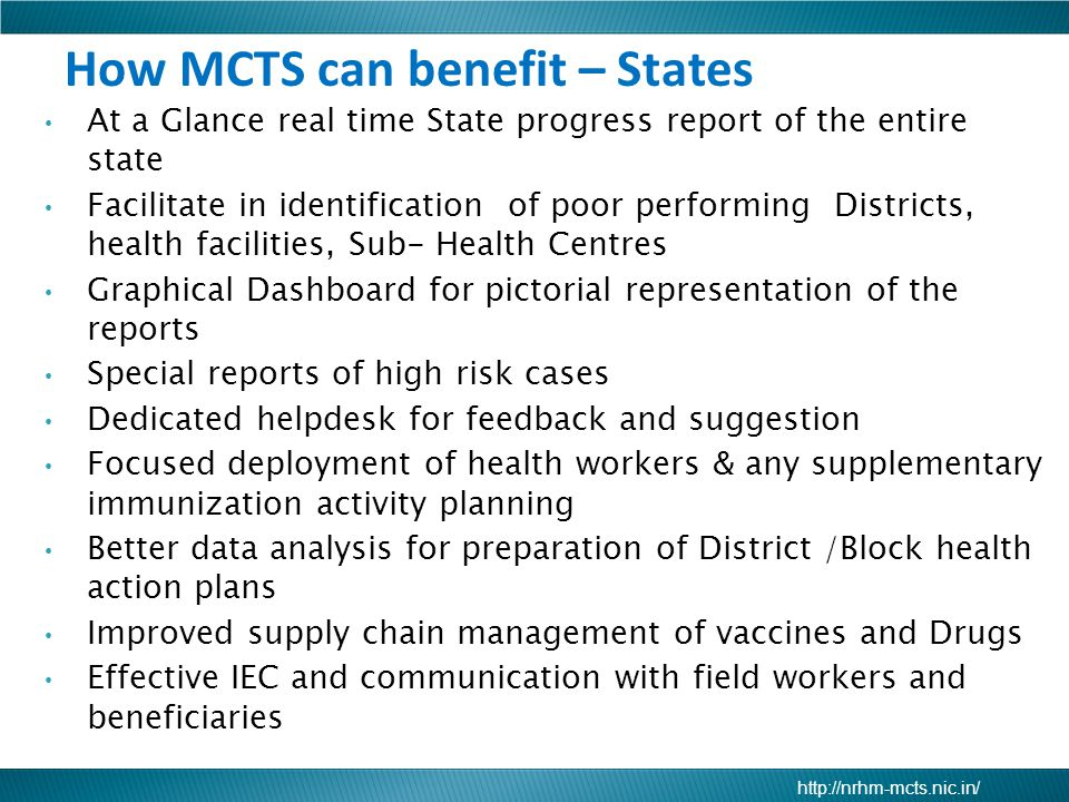 How MCTS can benefit – States