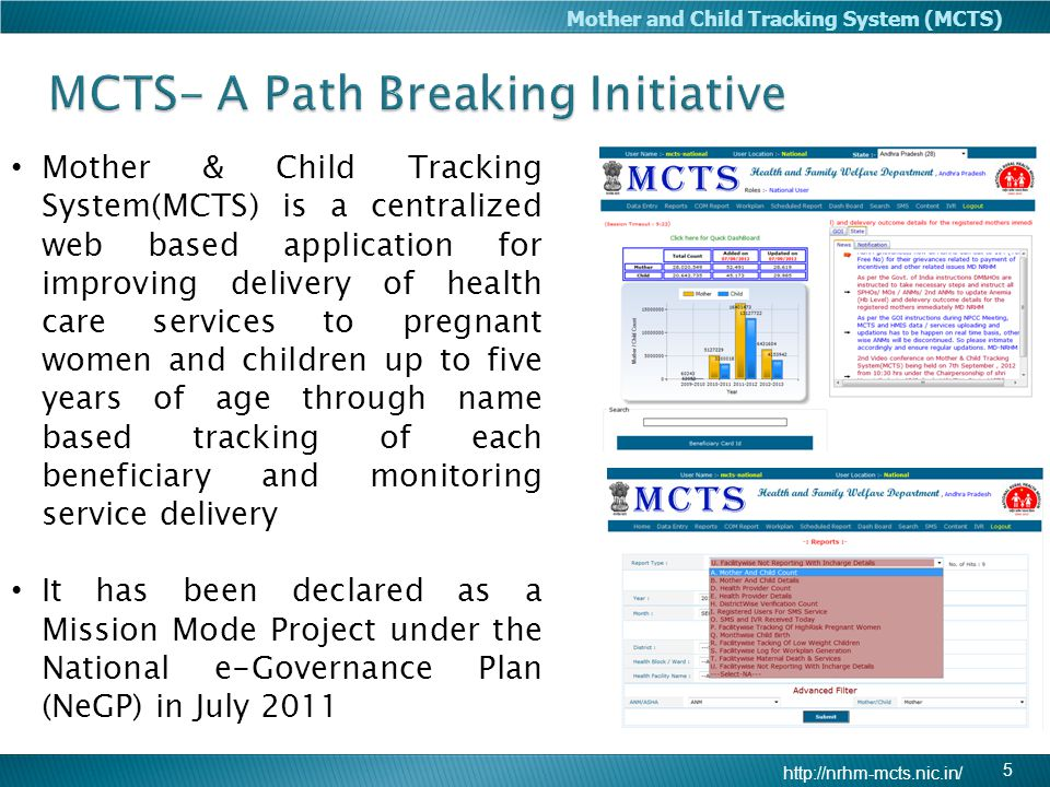 MCTS- A Path Breaking Initiative