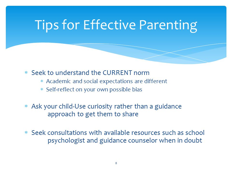 Tips for Effective Parenting