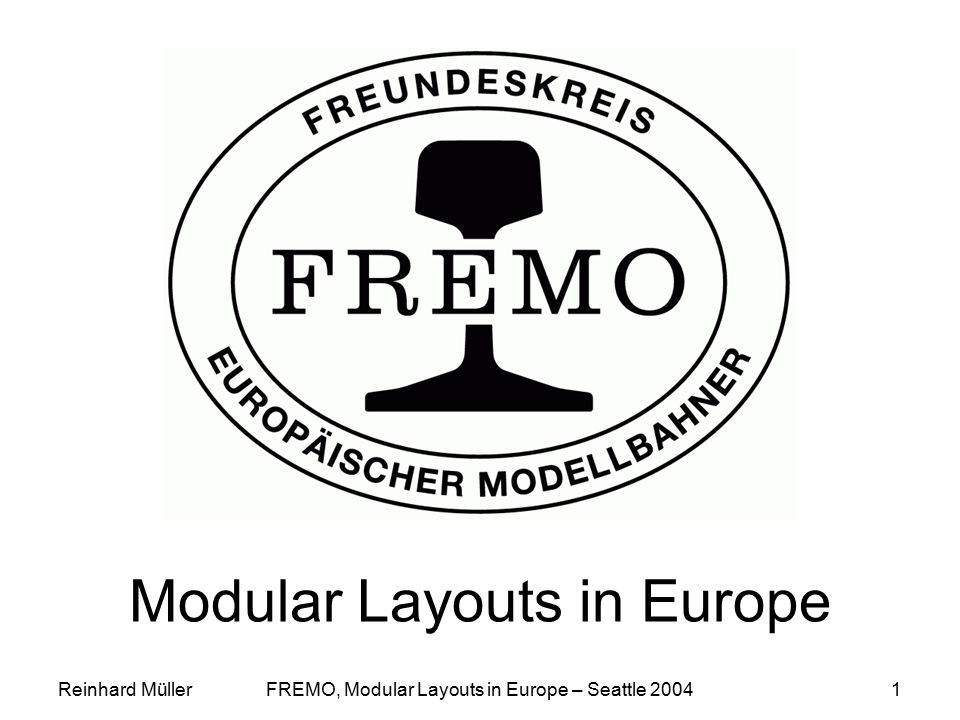 Modular Layouts in Europe