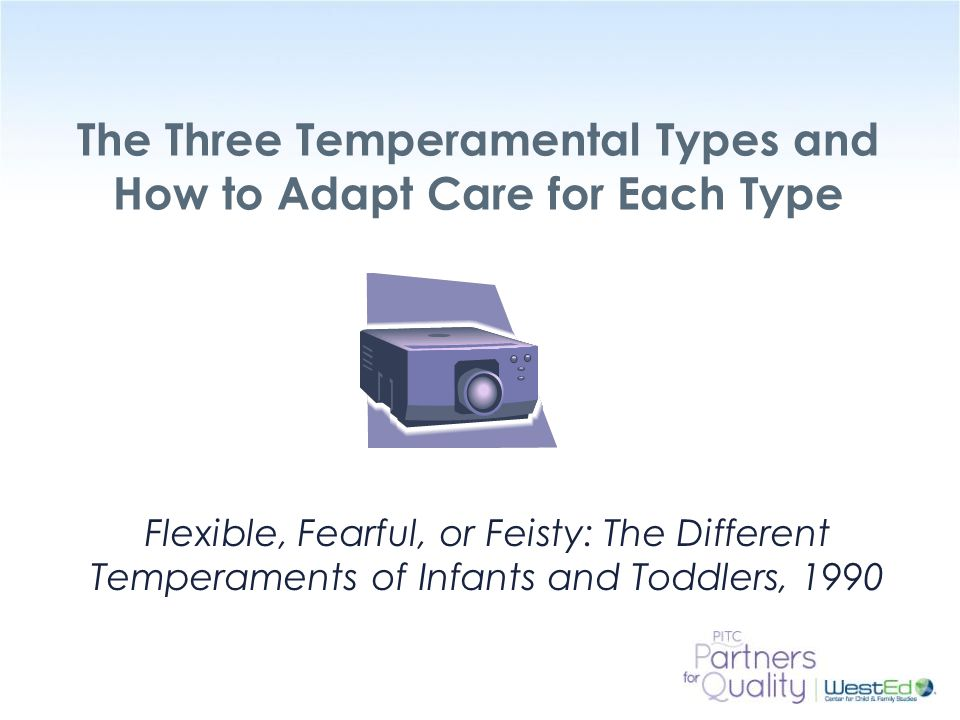 The Three Temperamental Types and How to Adapt Care for Each Type
