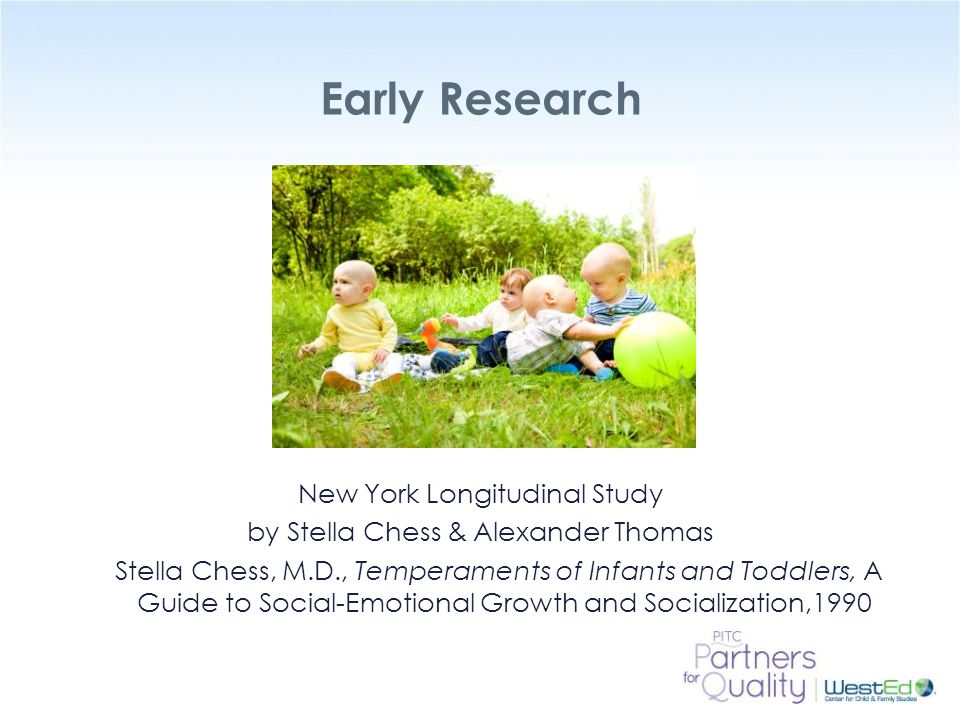 Early Research New York Longitudinal Study