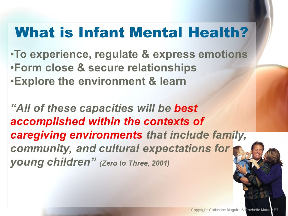 What is Infant Mental Health