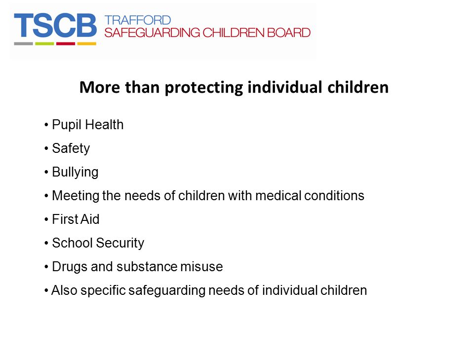 More than protecting individual children