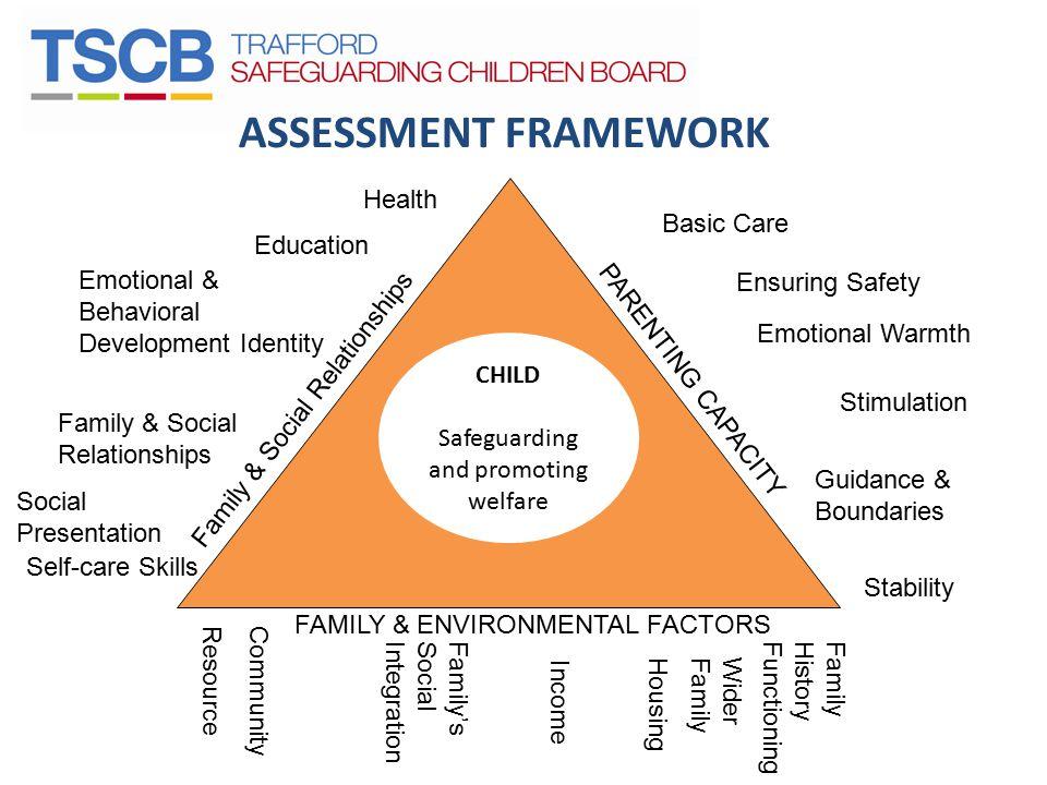 ASSESSMENT FRAMEWORK Health Basic Care Education