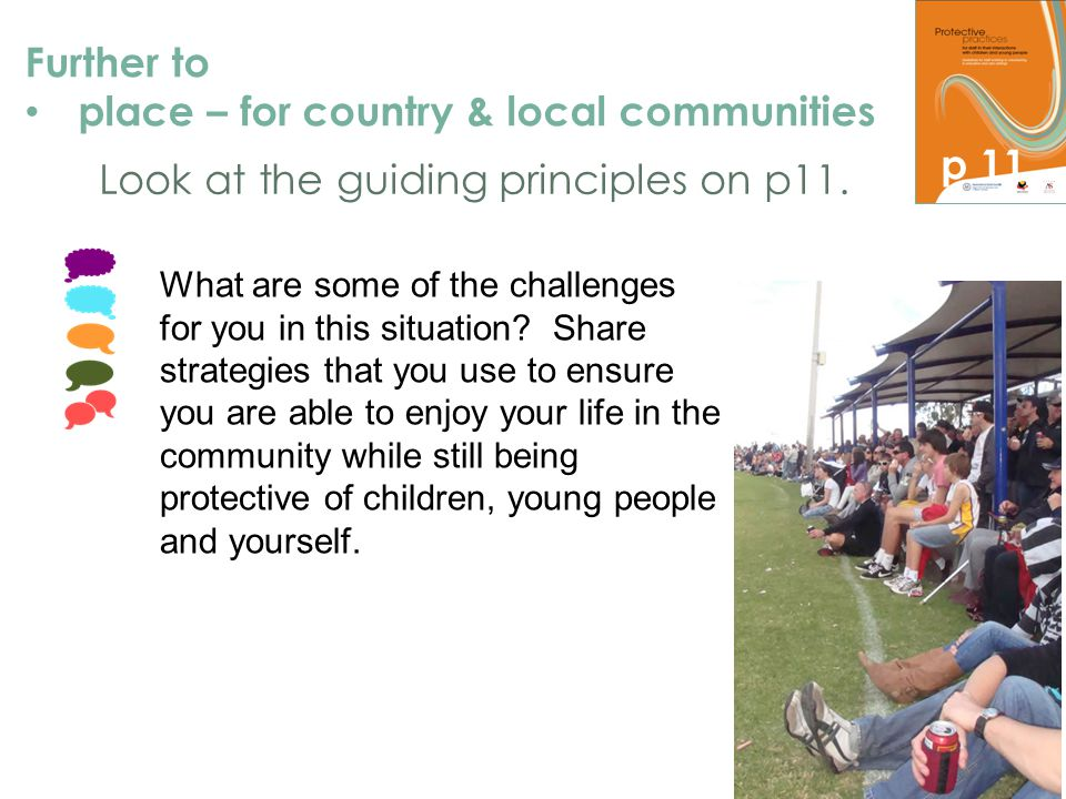 place – for country & local communities