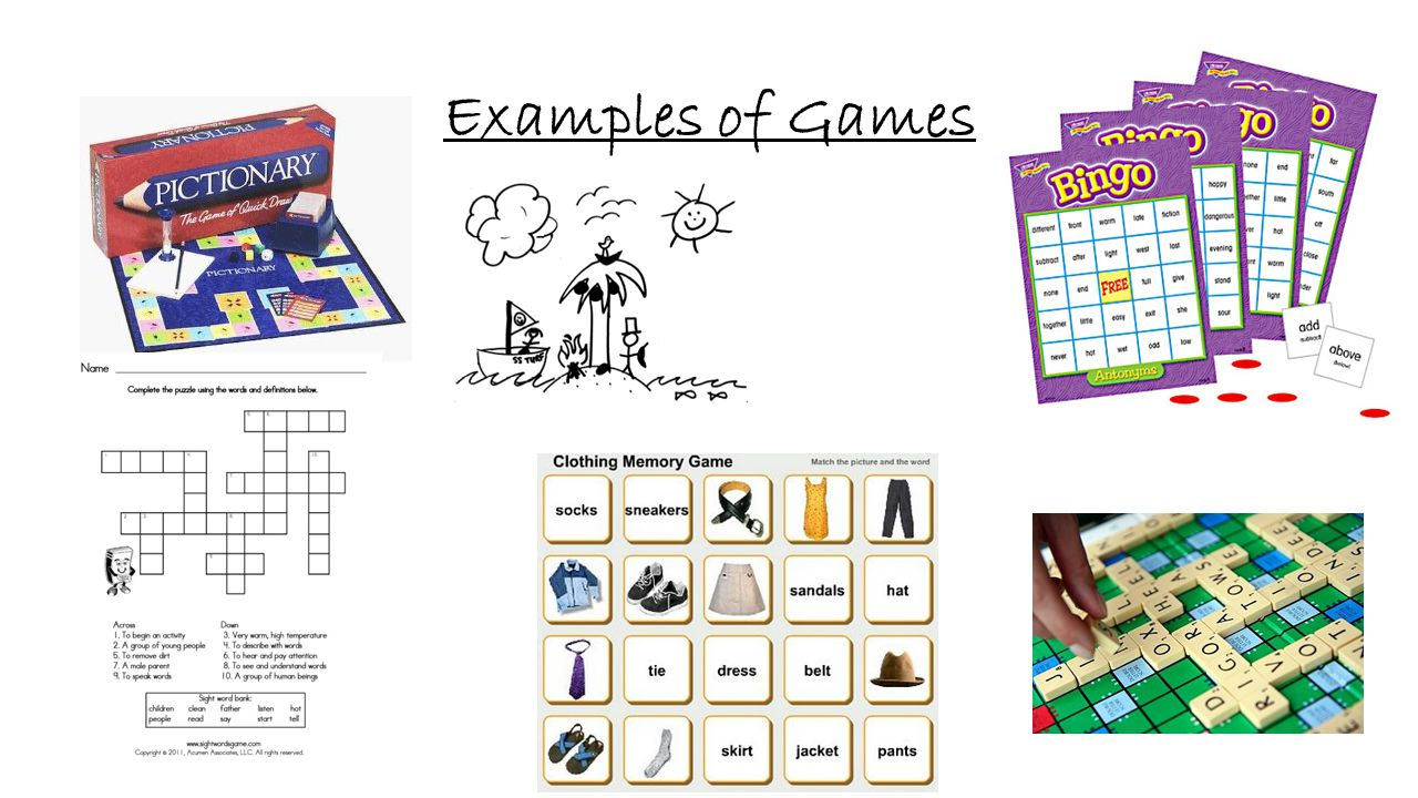 Examples of Games