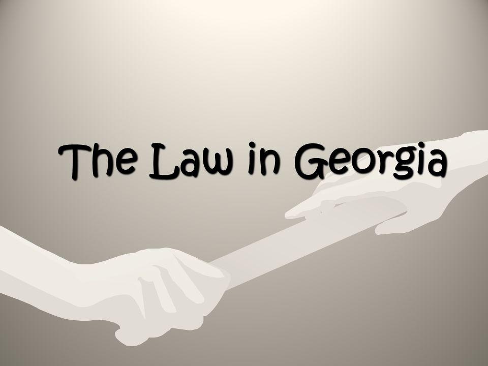 The Law in Georgia
