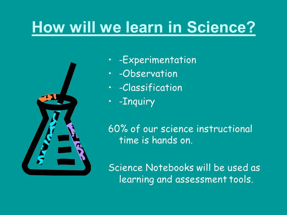 How will we learn in Science