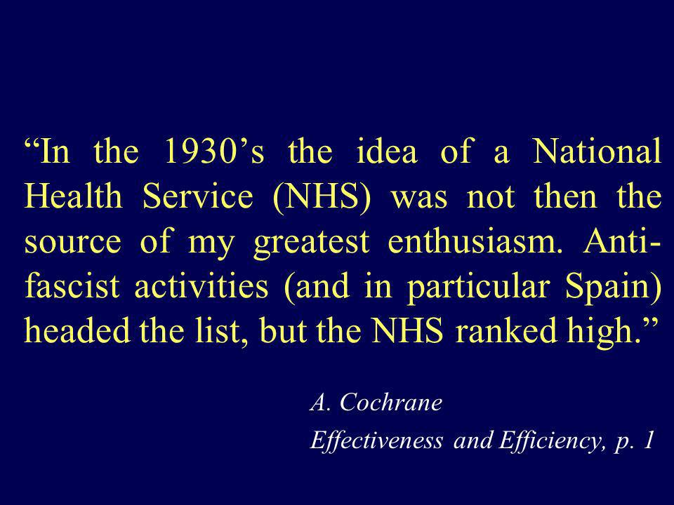 A. Cochrane Effectiveness and Efficiency, p. 1