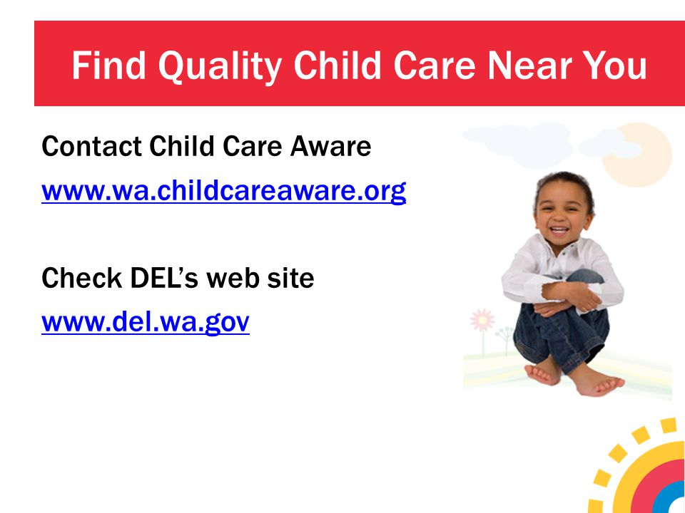 Find Quality Child Care Near You