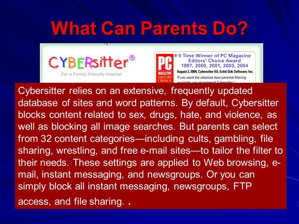 What Can Parents Do