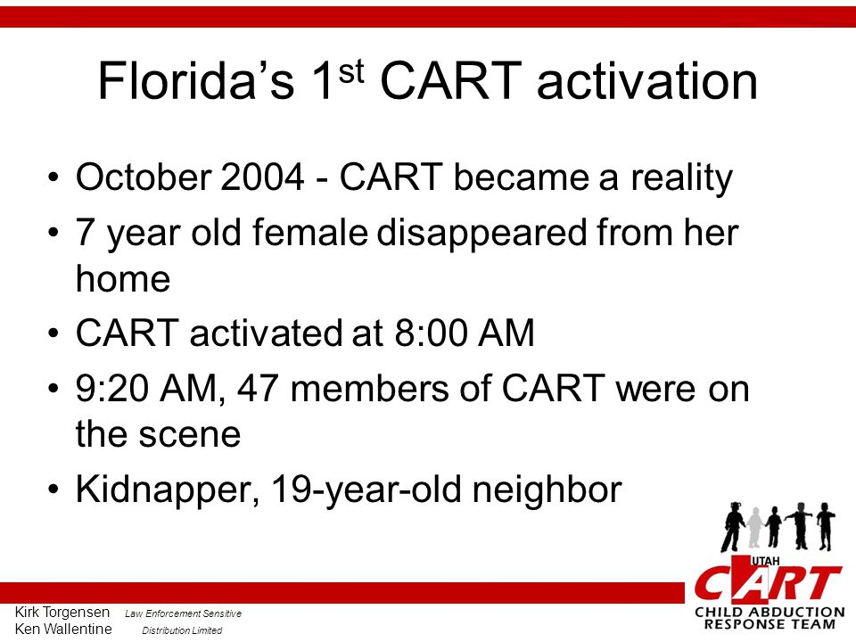 Florida's 1st CART activation