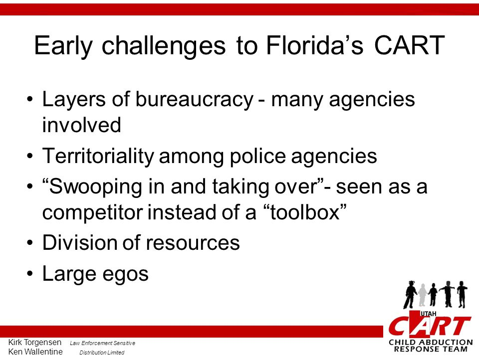 Early challenges to Florida's CART