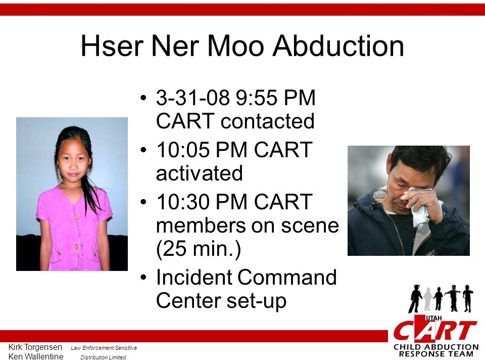 Hser Ner Moo Abduction 3-31-08 9:55 PM CART contacted