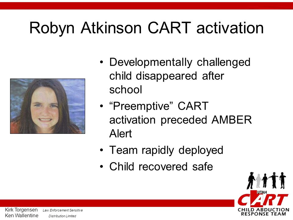 Robyn Atkinson CART activation