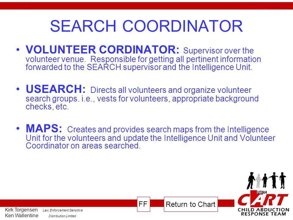 SEARCH COORDINATOR