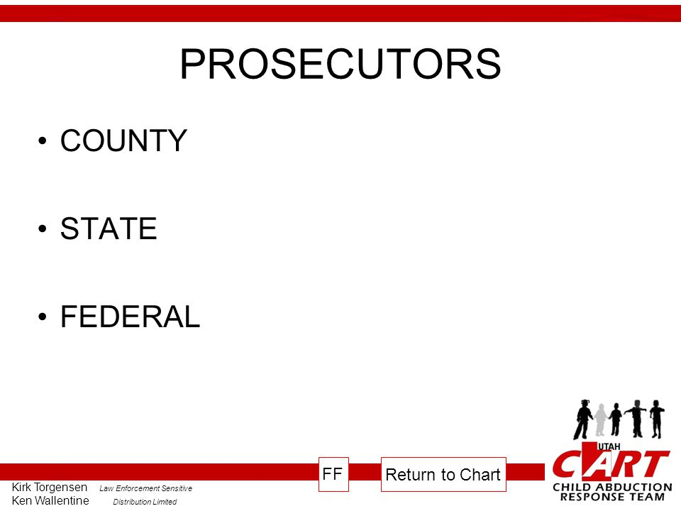 PROSECUTORS COUNTY STATE FEDERAL FF Return to Chart