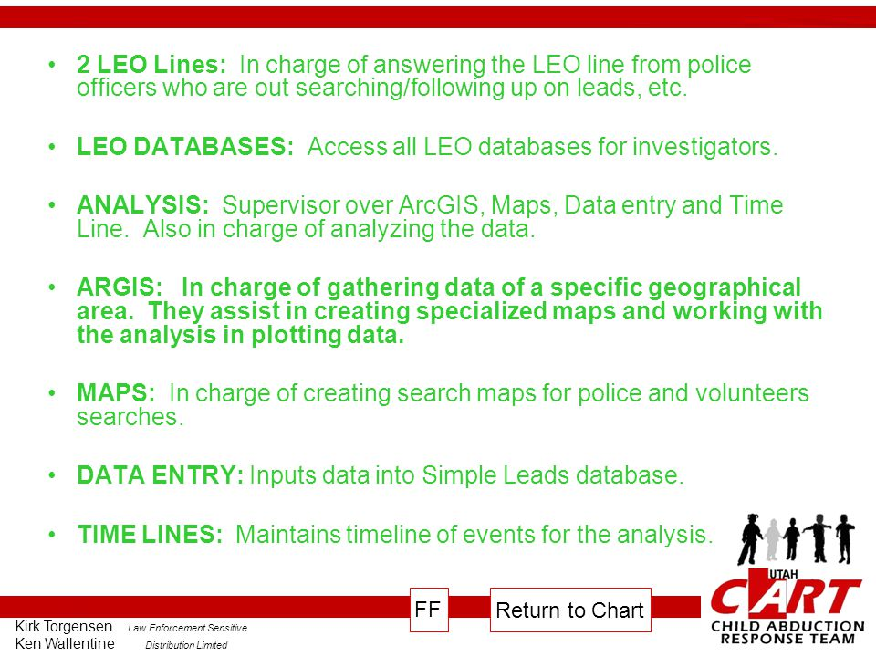 LEO DATABASES: Access all LEO databases for investigators.